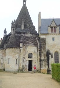 Abbey kitchens--gift of Eleanor of Aquitaine